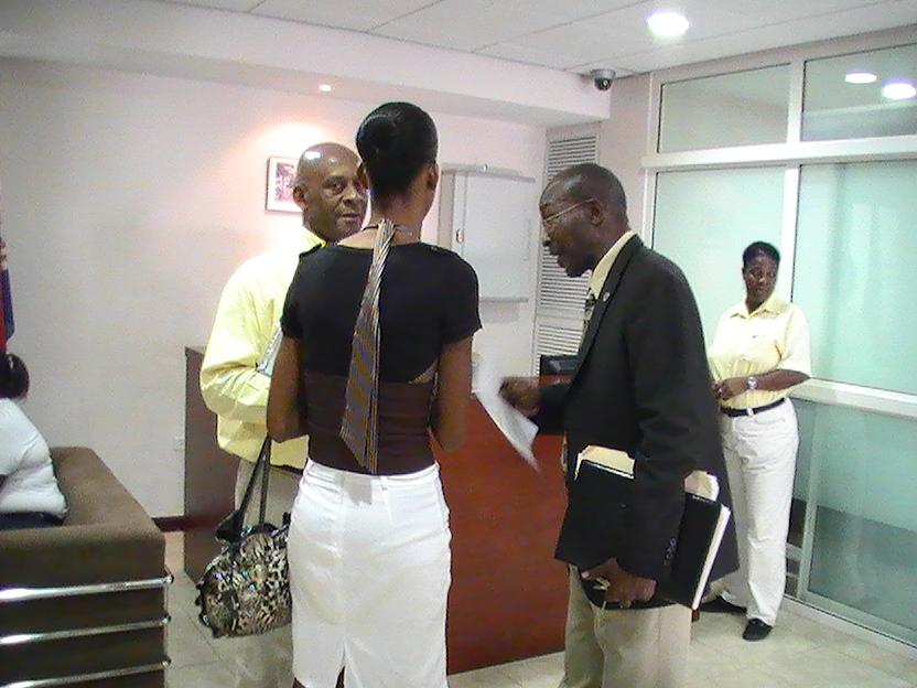 Minister receives annual report SXM St Maarten news