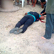 body of helmin wiels curacao after assassination