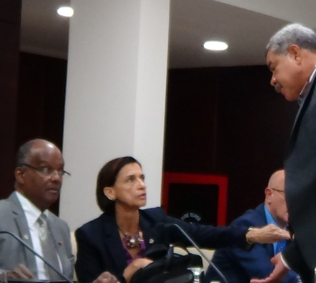 ST MAARTEN GOVERNMENT JUDITH ROUMOU PHOTOS