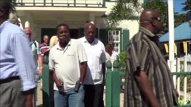 Theo Heyliger's pimp in-law Toachie Meyers at the Masbangu UPP bribes sxm police trial photos judith roumou