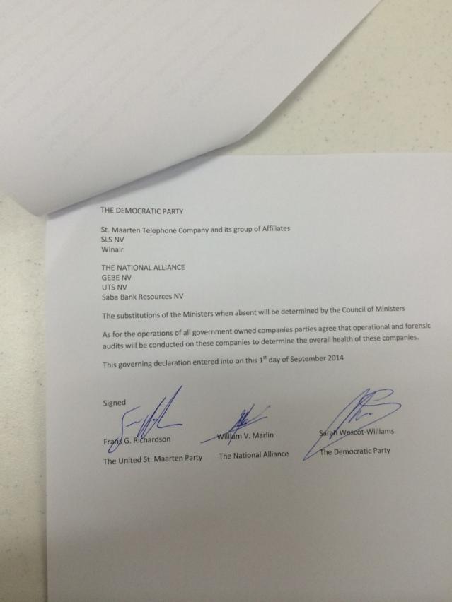 coalition agreement 2