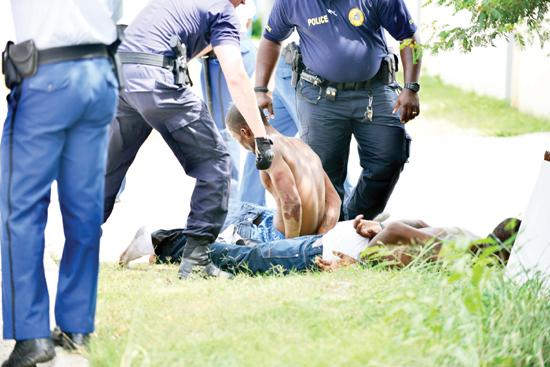 suspects shot in leg blogs judith roumou