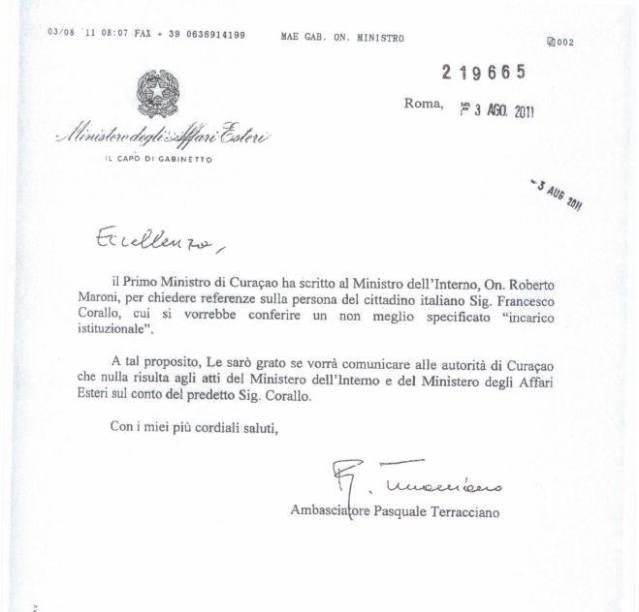 who runs the st maarten government francesco corallo the godfather 14