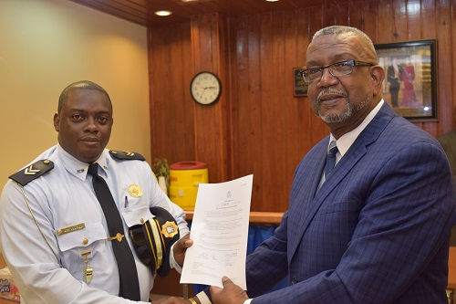 Minister Hands Out Decrees Sint Maarten Government News