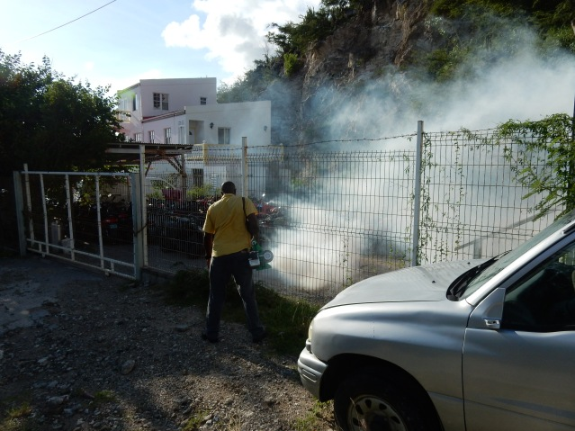 Ministry VSA continues with the war against mosquitoes