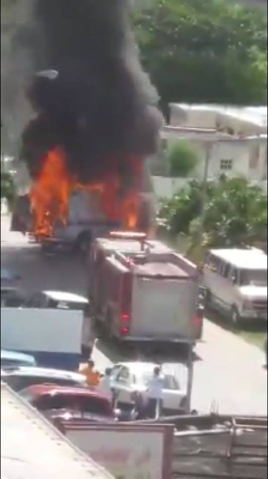 St Maarten Fire Dept Responds to Two Fires Today DComm Government Info