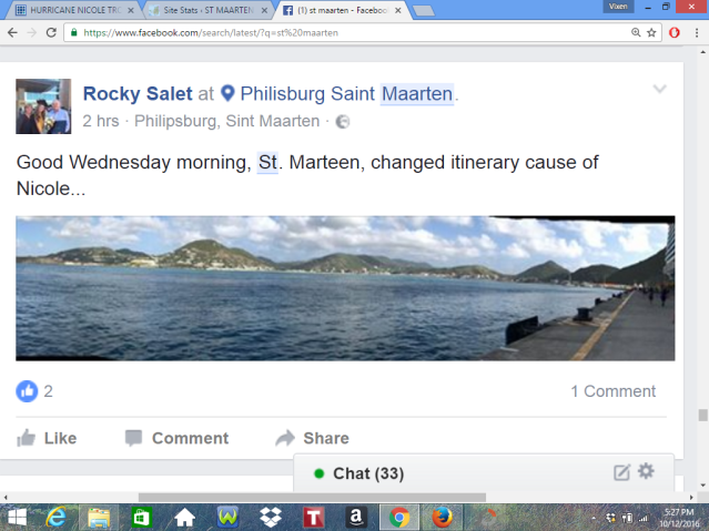 Hurricane Nicole Good News For St Maarten Bad News For Bermuda