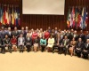 PAHO and WHO management with all Heads of Delegations from the participating member states.​