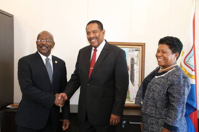 New Photos Government Commonwealth Dominica Visits Sint Maarten Government