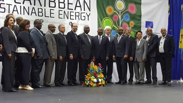 Prime Minister William Marlin attends EU – Caribbean Sustainable Energy Conference in Barbados