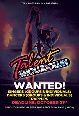 Teen Times Announces Deadline For Sxm Talent Show