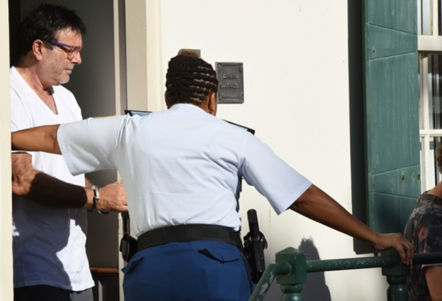 Photos Francesco Corallo Being Led In Handcuffs From Court, Another Suspect Arrested