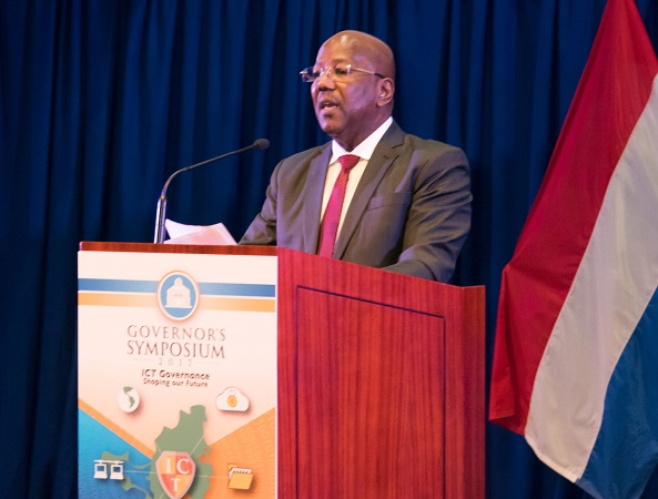 "Address of PM William Marlin at the Governor's Symposium on ""ICT Governance – Shaping Our Future"""