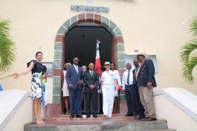 180 NEW PHOTOS COMMEMORATION OF BASTILLE DAY JULY 14TH 2017 SINT MAARTEN SAINT MARTIN