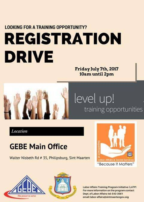 GEBE has partnered with the Department of Labor Affairs and Social Services to offer training