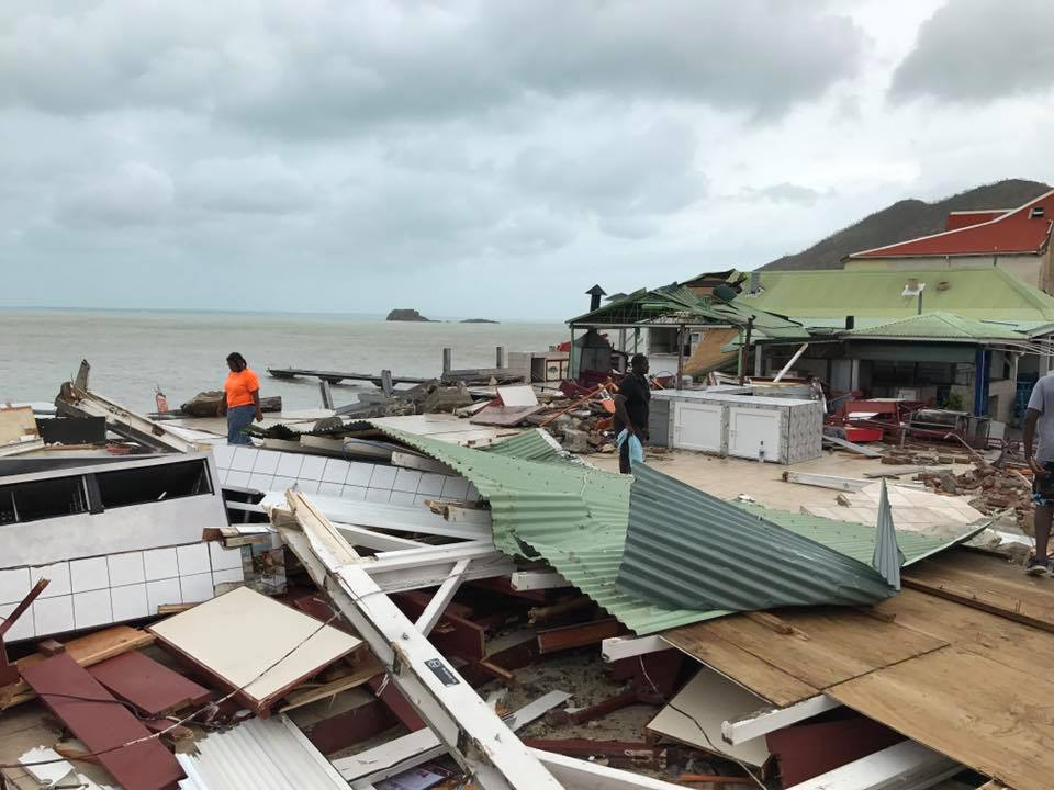 28 New Photos 1 Video Grand Case French Saint Martin After Hurricane Irma