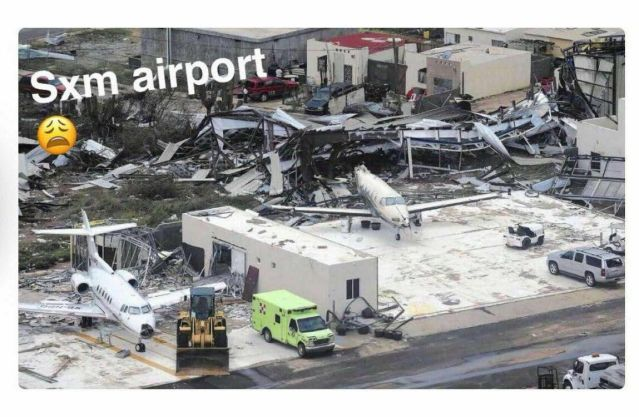 New Photos Hurricane Irma's destruction of St Maarten's Princess Juliana International Airport