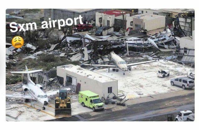 New Photos Hurricane Irma's destruction of St Maarten's Princess Juliana International Airport