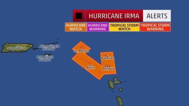 En Espanol Huracan Irma 4 Hour Video Weather Report Update Hurricane Irma