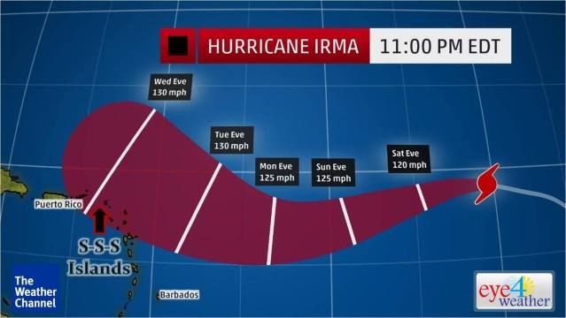 Latest Hurricane Irma, St Maarten The Caribbean Eyeweather News