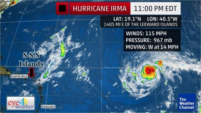 Hurricane Irma Latest Video Update Monday Afternoon 1