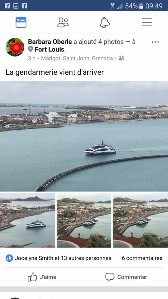 Photo Gendarmes Arrive In French St Martin Where Some Have Reported To Be Unsafe