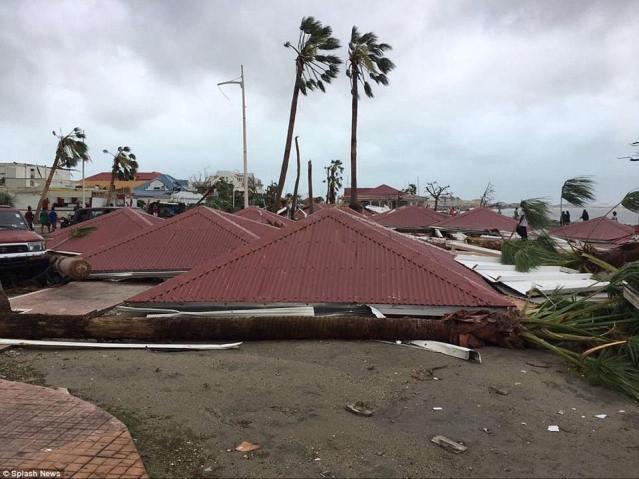 New Photos Hurricane Irma Destroys Oyster Pond St Maarten
