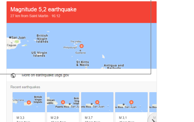 Earthquake 5.2 richter scale St Maarten, Anguilla and the Caribbean Latest Updates
