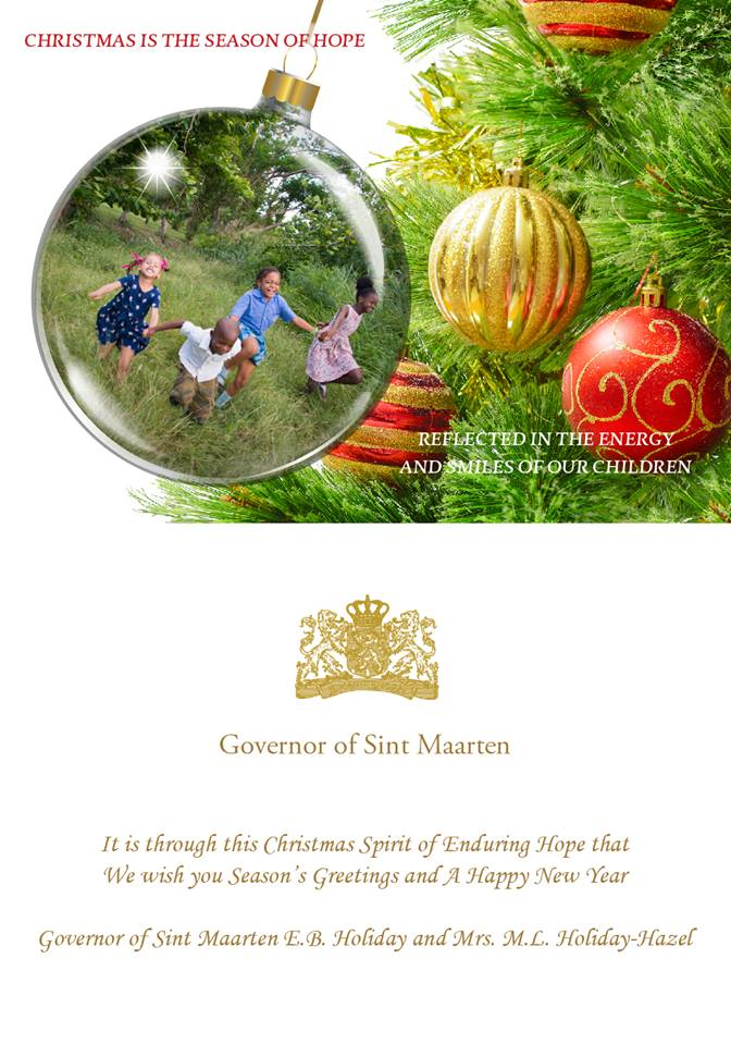 Governor extends holiday greetings to st maarteners st maarten governor extends holiday greetings to st maarteners m4hsunfo