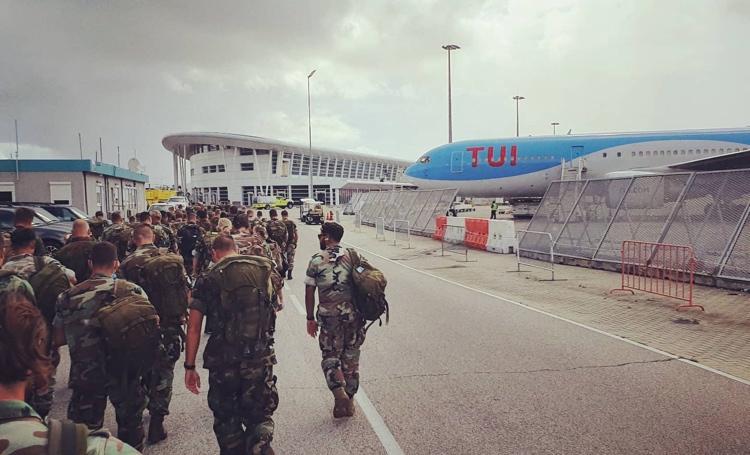 Dutch Military Leaves St Maarten As Iranian Ship Enters Caribbean